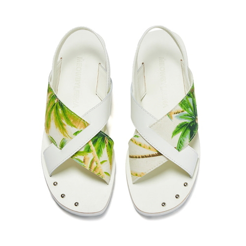 MW Cross Sandal (PALM)